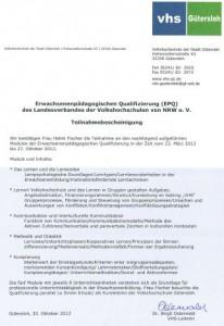 EPQ-Zertifikat